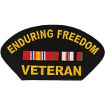 ENDURING FREEDOM .VET. PATCH