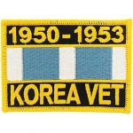 KOREA SVC,RIBB. 1950-1953 PATCH