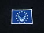 US Airforce Flag Logo 2 patch