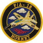 USN,F/A-18 HORNET PATCH