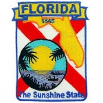 FLORIDA (SHIELD) PATCH