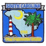 SOUTH CAROLINA (STATE MAP) PATCH