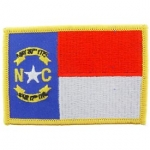 NORTH CAROLINA (FLAG) PATCH