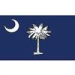 SOUTH CAROLINA (FLAG) PATCH