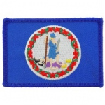 VIRGINIA (FLAG) PATCH