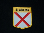 ALABAMA (SHIELD) PATCH