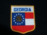 GEORGIA (SHIELD) PATCH