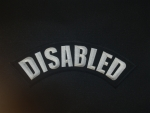 Disabled Top Rocker