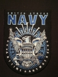 "US Navy PATCH 6"" x 4.5"""