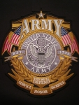 U.S. Army Back Patch LG
