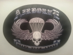 "US ARMY AIRBORNE PATCH ""DEATH FROM ABOVE"" LG"