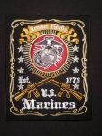 US MARINES SEMPER FIDELIS PATCH