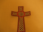 Celtic Cross Pink
