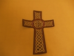 Celtic Cross Purple
