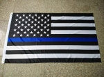 US FLAG W/ Blue Stripe