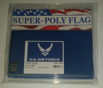 US AIR FORCE LOGO III  FLAG