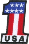 #1 USA Patch