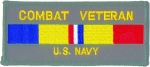COMBAT VETERAN  US-NAVY