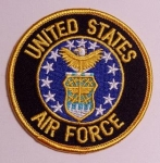 US Airforce Round Shield patch