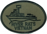 RIVER RATS VIETNAM SUBDUED PATCH