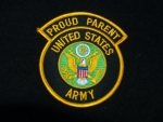 US Army Proud Parent Patch