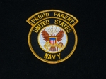 USN Proud Parent Patch