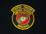 USMC Proud Parent Patch