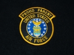 USAF Proud Parent Patch