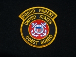 USCG Proud Parent patch