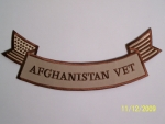 AFGHANISTAN VET BOTTOM ROCKER AM FLAG-DESERT...