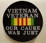 VIETNAM VET CAUSE-SMALL PATCH