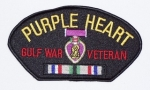 PURPLE HEART/GULF WAR PATCH