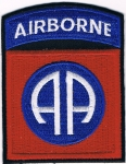 US Army 82nd Airborne AA Patch