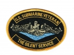 U.S. SUBMARINE VETERAN PATCH