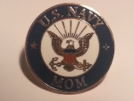 U.S. Navy  Mom Lapel / Hat Pin